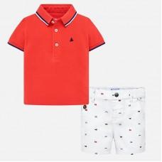 Mayoral-Комплект от тениска и бермуди