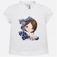 Mayoral-Тениска с принт момиченце