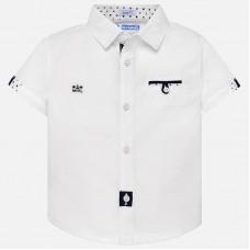 Mayoral-Риза къс ръкав с малки детайли