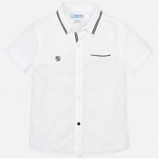 Mayoral-Риза къс ръкав едноцветна