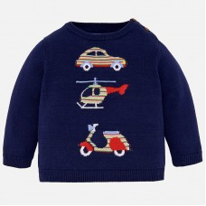 Mayoral-Пуловер с превозни средства